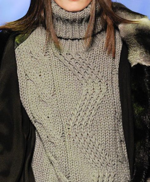 Decorialab - Knit Textures - Milan Fashion Week - Phillipp Plein