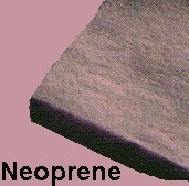 """Neoprene blend provides moderate resistance to oil and ozone.  Good for use in bumpers, pads, and sealing in general gasket and flange applications.  Minimum Tensile strength - 800 PSI.  Durometer 60+/-5. Temperature range: -20F to 170F. Black in color  Please Select a Material Thickness.  1/32""""   5/16"""" 1/16"""" 3/8"""" 3/32"""" 1/2"""" 1/8"""" 5/8"""" 3/16"""" 3/4"""" 1/4"""" 1"""""""