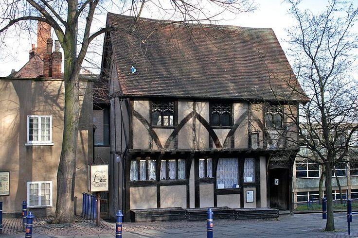 Lace Centre, in the medieval Severns Building, Castle Road, Nottingham, England