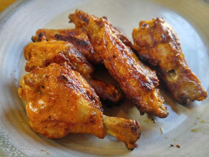 Peri-peri hurts so good #wings #hotstuff