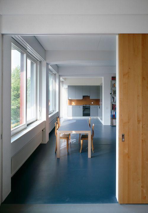 Meili Peter - Wohn- und Atelierhaus Zypressenstrasse, Zürich