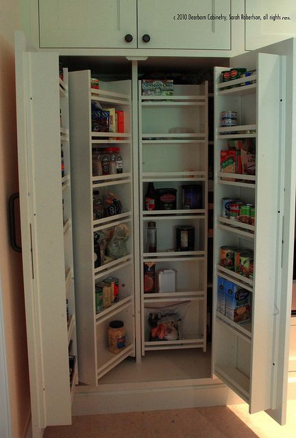Revolving Or Hinged Pantry Shelves Kitchens Pinterest