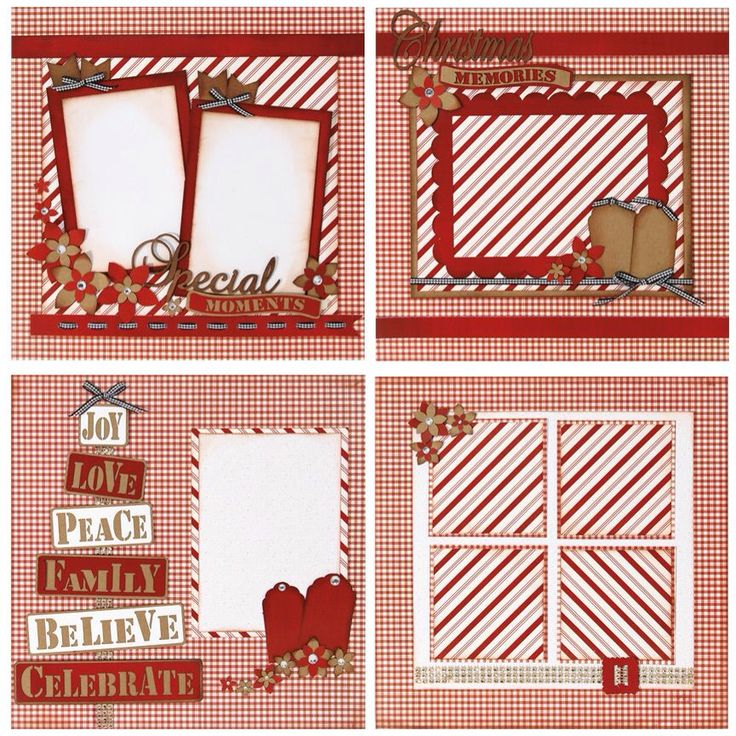 173 Best Scrapbook Pages Christmas Images On Pinterest