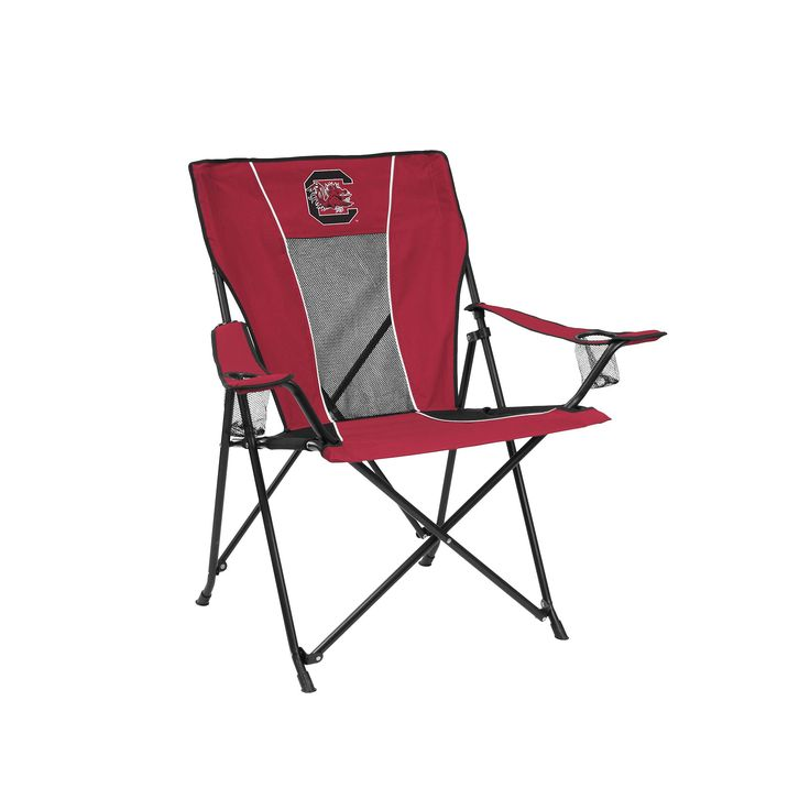 Outdoor Adult Logo Brand South Carolina Gamecocks Game Time Portable Folding Chair, Multicolor