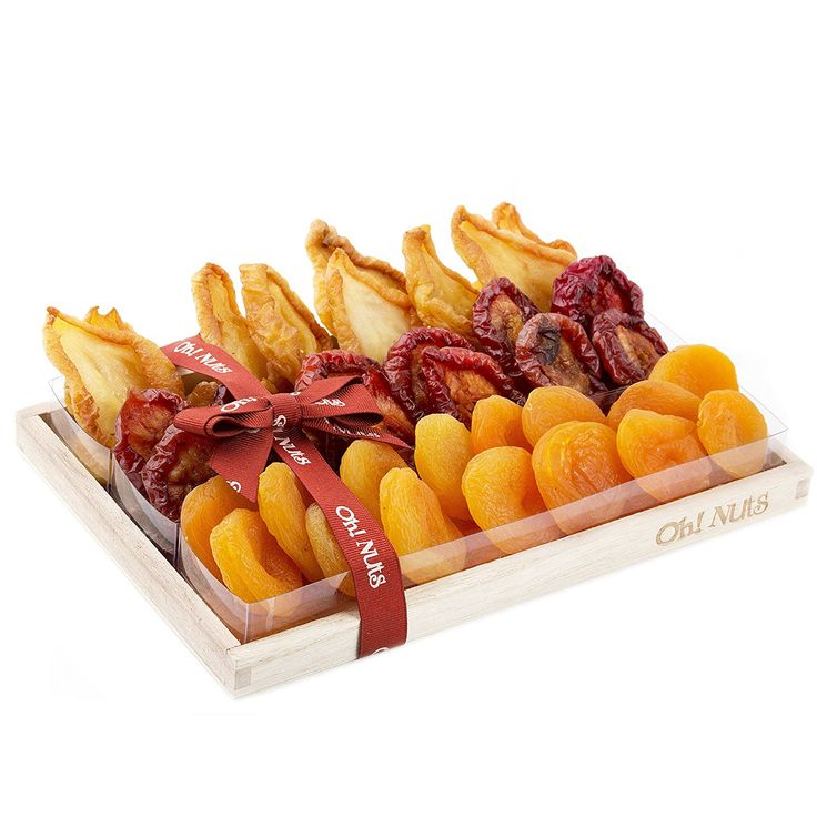 Fruit Gift Tray, Healthy Gift Basket, Delicious Large Californian Dried Fruit Presnted as Beautiful Gift - Oh! Nuts (Californian Dried Fruit Gift Tray) -- You can get additional details at the image link.