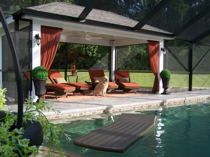 Screened In Pool : Best screened pool ideas on pinterest tropical