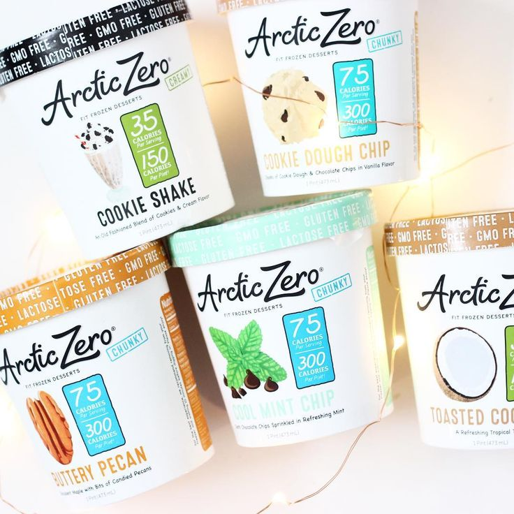 """""""✨Thank you so much @arcticzero for the yummy goodies! I am obsessed with Arctic Zero and one of my favorite flavors is Cookie Shake. I love that these are…"""""""