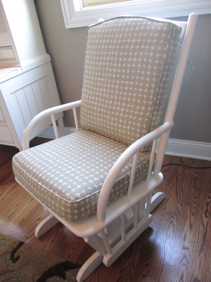 reupholstered glider chairs - Google Search