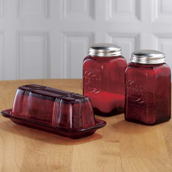 Red Kitchen Glassware