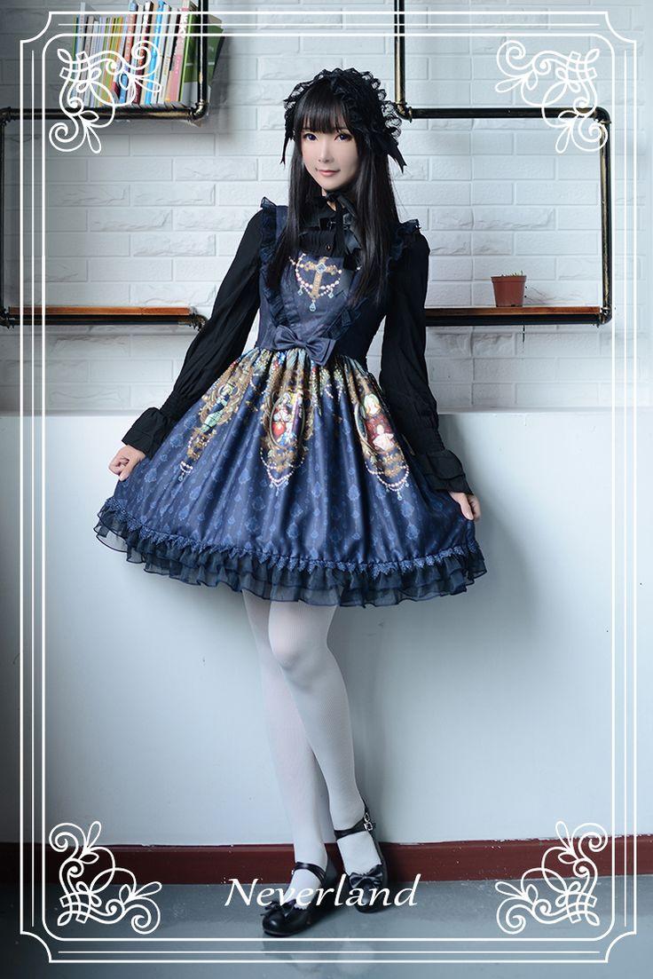 23 best Lolita Fashion Dress Soufflesong Neverland The Madonna ...