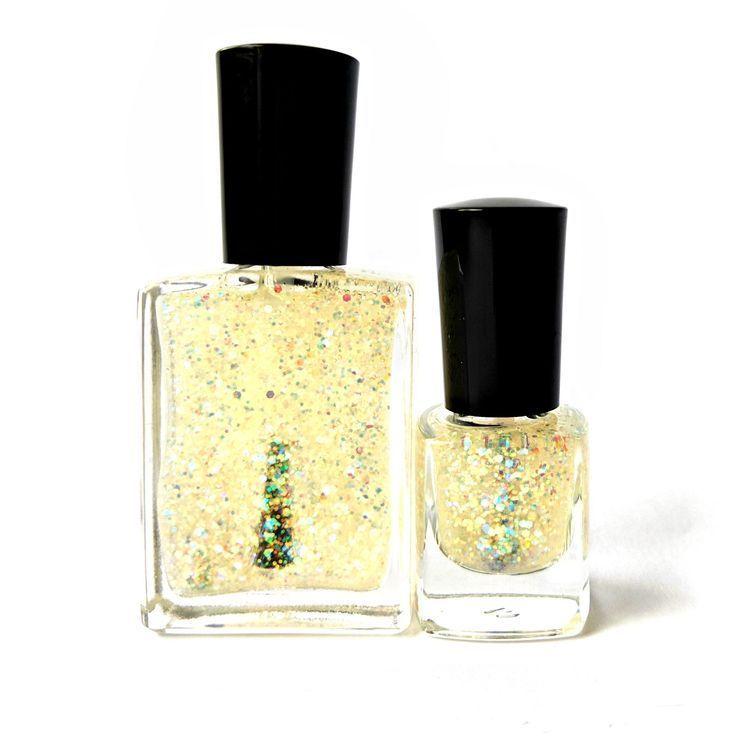 Purity of Sight – Glitter Top Coat, Nontoxic Nail Polish, Scented Nail Polish, V…