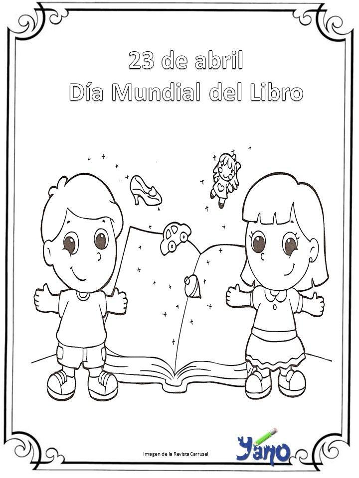 Efemerides De Abril Para Colorear Profe Yano Actividades Escolares Manualidades Escolares Efemerides Abril
