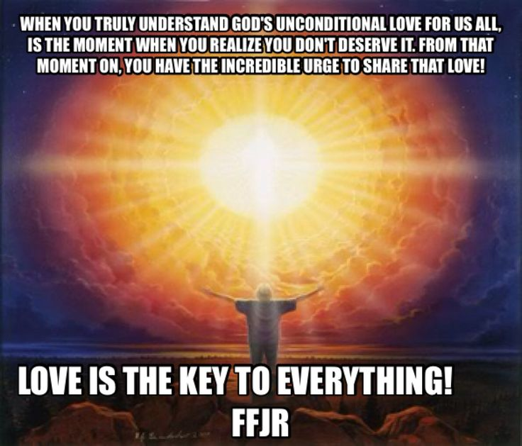 Love is the key!
