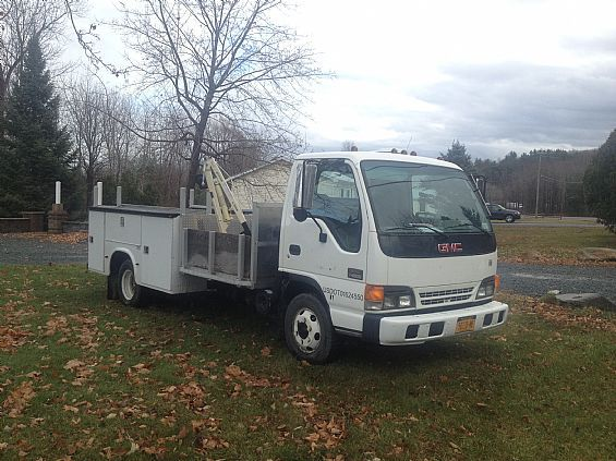 2001 GMC 4500 Cab & Chassis Utility Truck For Sale in Waterford, NY A00050 | Want Ad Digest Classified Ads