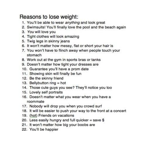 Wish this was all true. But the thing is, no matter how skinny you are you don't even realize it. Being skinny won't make people like you. It won't make you make friends. And eventually,  you're gonna want to be skinnier than you already are. Having guys stare at you because you're hot? Not so fun, yeah it might feel good the first few times, but the way they will look at you is so belittling, like you're just a hot body and that's it. They won't pay attention to YOU anymore,  just your…