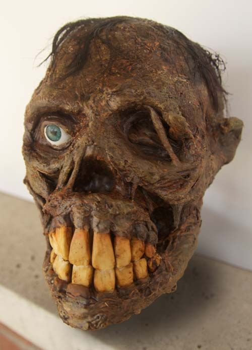 shrunken head tutorials and diy and crafts on pinterest