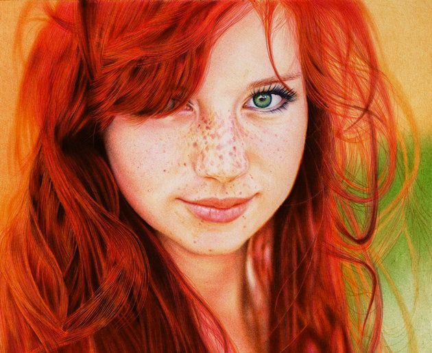 "Using only eight different colors, the self-taught Silva told readers that he completed the drawing in about 30 hours. ""Ballpoint pens are as underestimated as they are a powerful medium,"