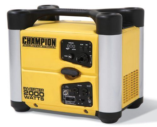 "Original pinner said, ""I carry this generator with my A-Frame if I am going where there is no power....its quiet, lightweight and super easy to operate & maintain."""