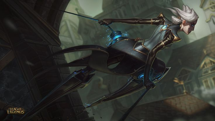 League of Legends. Champ reveal Camille. I'm pretty excited for her ♥ Read the comic on her if you haven't already!