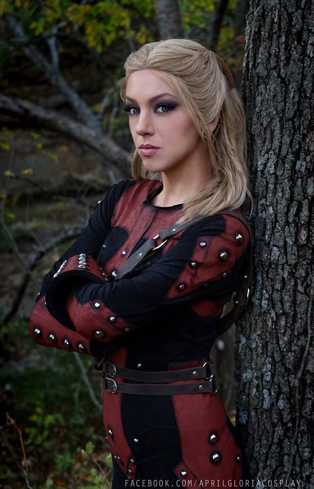 April Gloria Cosplay TES V Skyrim The Elder Scrolls Astrid The Dark Brotherhood Mroczne Bractwo