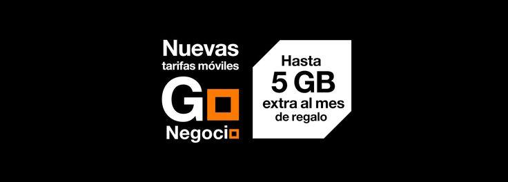 Llegan las nuevas tarifas móviles Go Negocio, las tarifas móviles más completas en datos y servicios del mercado. Grupo France Telecom (Orange empresas).