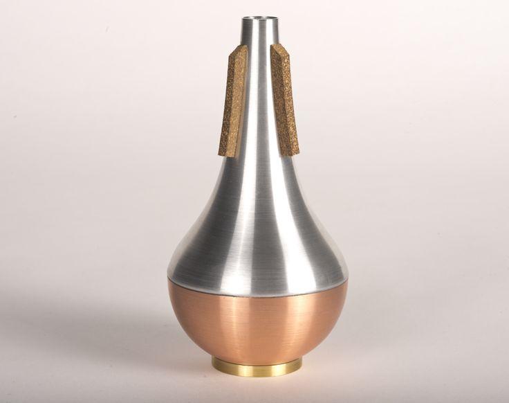 trumpet mute, copper