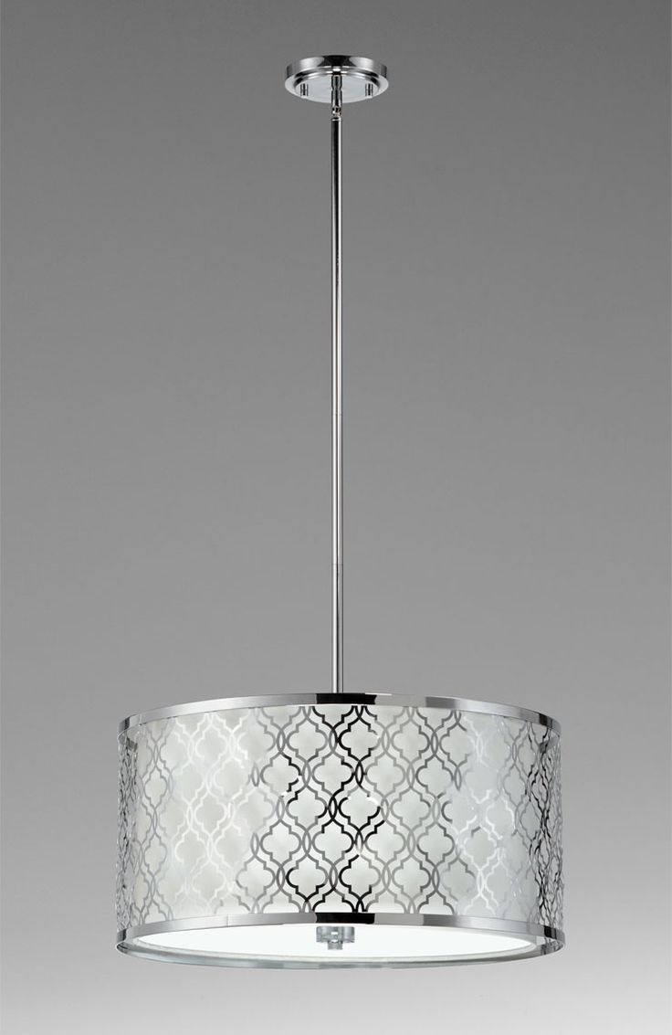 chandelier  quatrafoil drum from Cyan Design