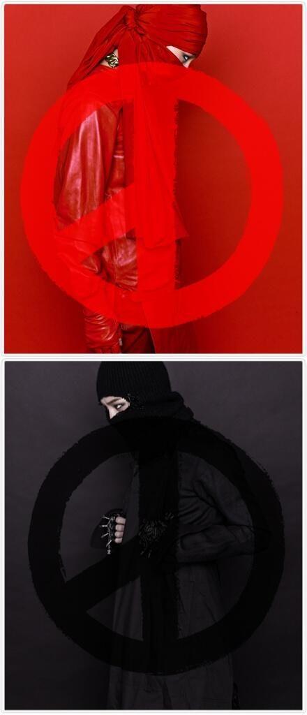 G-Dragon (Kwon Ji Yong ) ♡ #BIGBANG - COUP D'ETAT -- RED VERSION & BLACK VERSION
