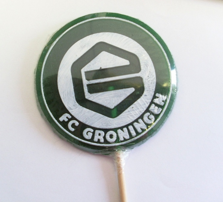 FC Groningen promotional business lollies. Rock candy, favours, personalized sweets, sweets, rock sweets, customizable candy, sweet shop, sweetie, bonbonnier, party sweets, hard candy, unique gift, candy buffet, candy table, treats