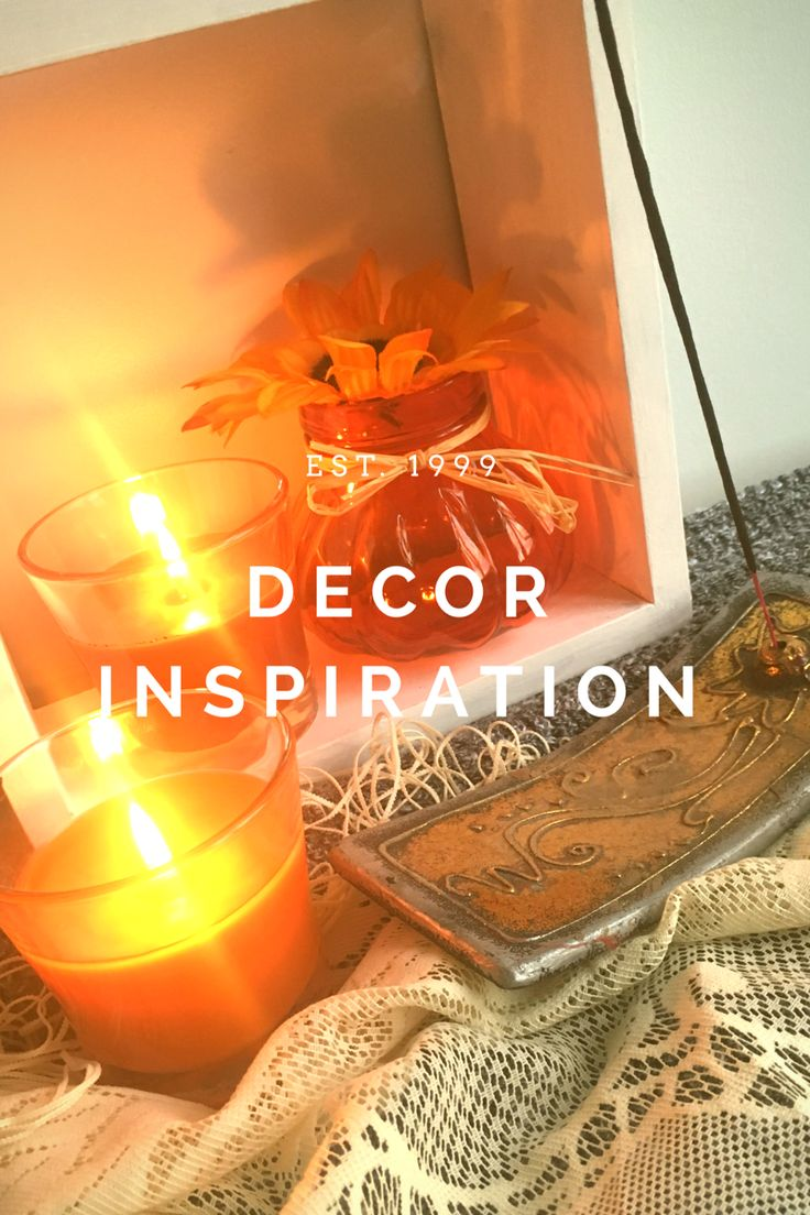 Fall Decoration Inspiration