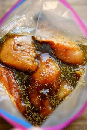 Homemade Chicken Marinade Recipe - this is the BEST chicken marinade, you can whip up in just a few minutes... #chicken #homemade #homesteading