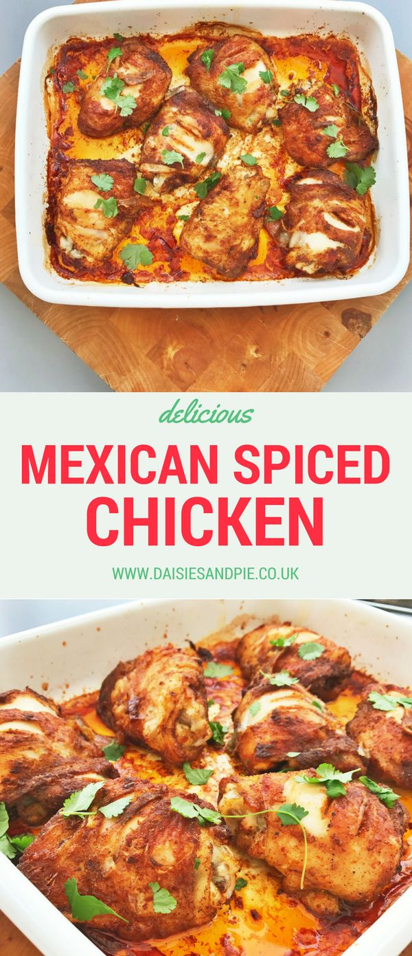 Mexican chicken thighs, mexican marinade for chicken, easy family dinner