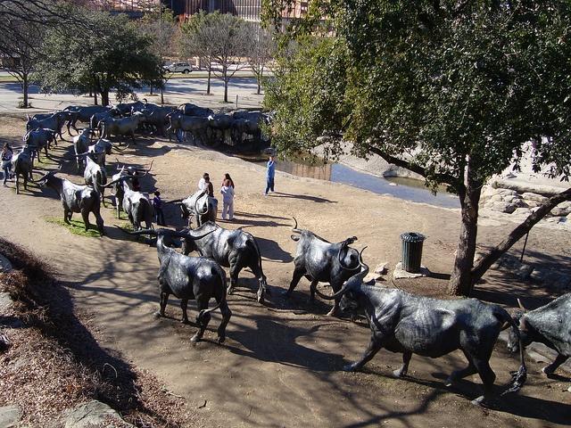 Pioneer Plaza, Dallas