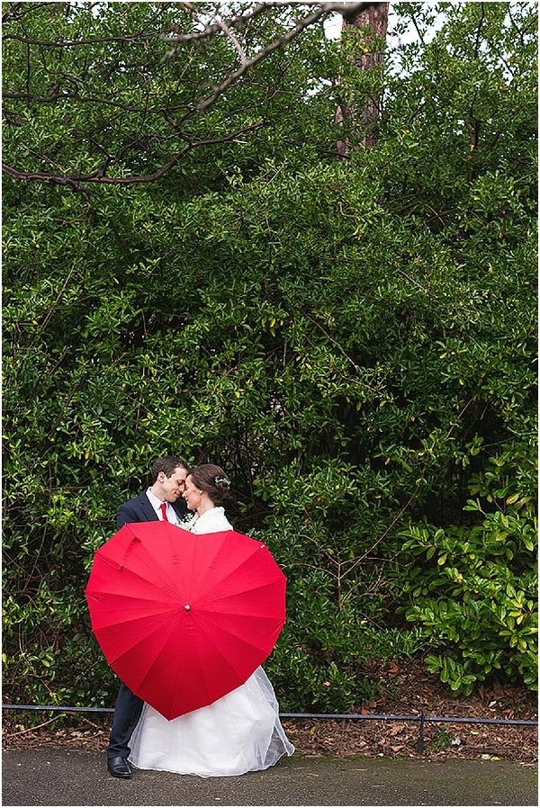 Red heart umbrella | Image by Inspired by Love, read more http://www.frenchweddingstyle.com/french-wedding-beautiful-ireland/