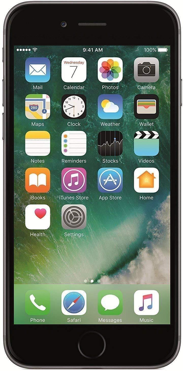 Apple Iphone 6 16gb Grey Certified Refurbished Code C734524 Apple Iphone Apple Mobile Iphone 7 Rose Gold