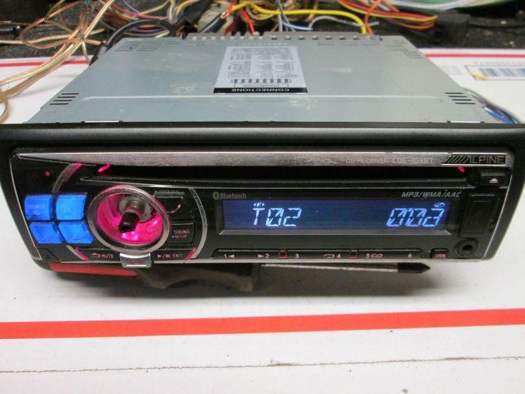 Alpine CDE-103BT Bluetooth/CD Player In Dash Receiver radio mp3 usb stereo car