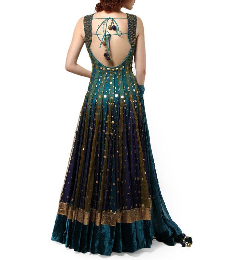 pretty dress indian designerwear-perfect for weddings