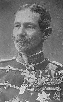 Le général Averescu, commandant du 1er corps d'armée roumain.jpg