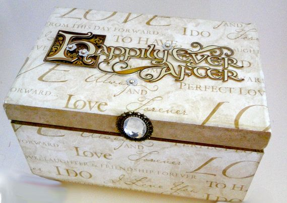 """Could almost definitely make this myself... I've seen the """"Happily Ever After"""" embellishment before..."""