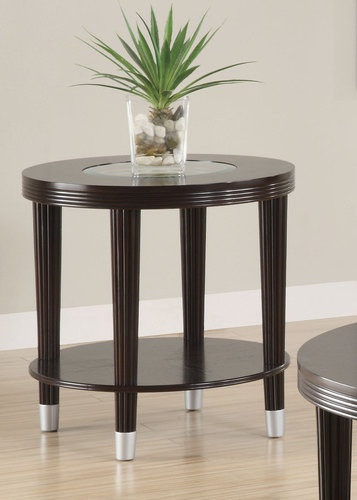 Marvelous Coaster 701327 Transitional End Table Cappuccino New | $159.00