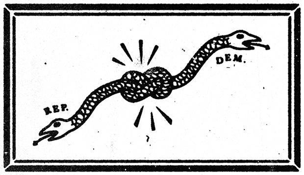 Won't You Be My (Hyper-Partisan) Neighbor?: Cassaro, Young Jerk, Art, Youngjerk Com, Snakes Illustrations, Gusto Design, Graveyards, Hands Drawn, Op Illustrations