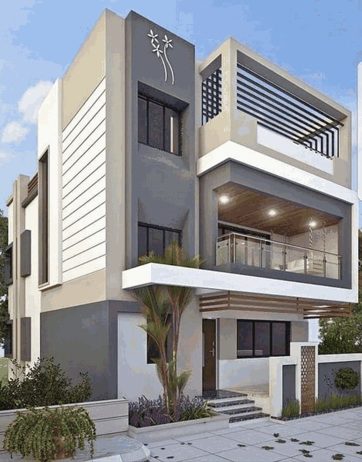 55 Modern House Designs Siding That Look Amazing 23 Aero Dreams Housedesign Homedesign E Bungalow House Design Duplex House Design House Designs Exterior