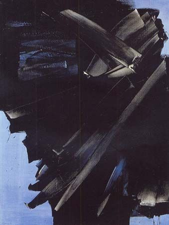 Pierre Soulages (French b. 1919) Peinture 23 avril 1963, 1963