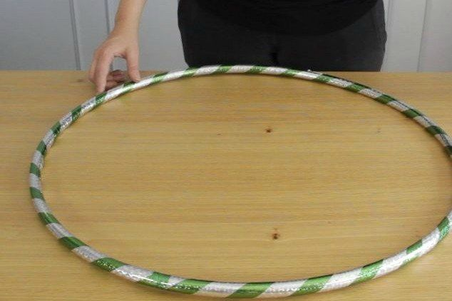 Hula hoops aren't just for exercise!