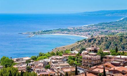 Sicile - Vols A/R de Paris et Marseille à Fiumefreddo di Sicilia : ✈ 7 nuits en Sicile avec petits déjeuners, vols A/R inclus:…