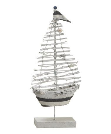 Another great find on #zulily! Twig Sail Boat #zulilyfinds