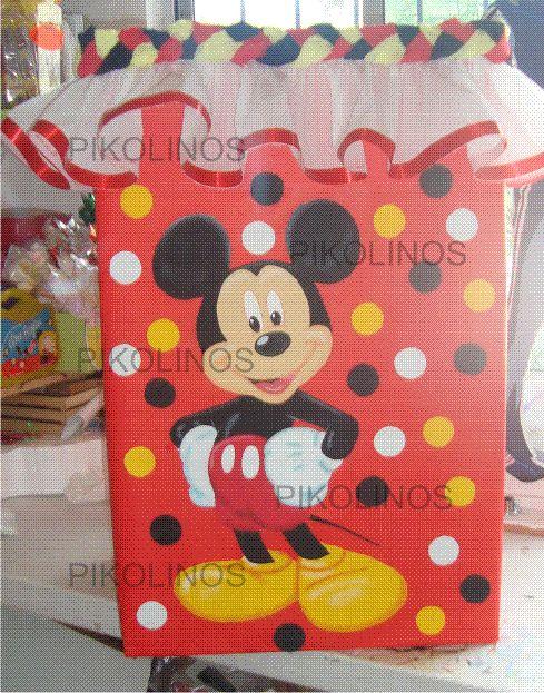 Caja para colocar regalos #mickey
