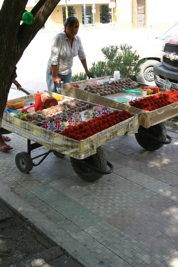Candy seller  streets of Cadereyta, Nuevo Leon