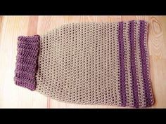 Doggy sweater crochet tutorial - Woolpedia, My Crafts and DIY Projects