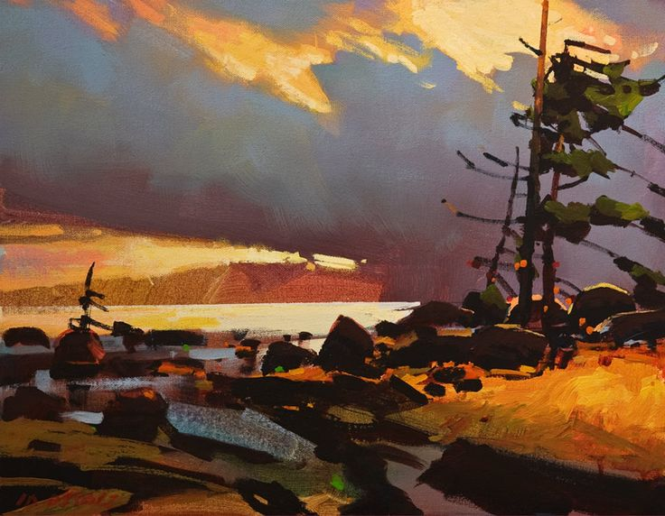 West Winds, Georgia Strait, by Michael O'Toole